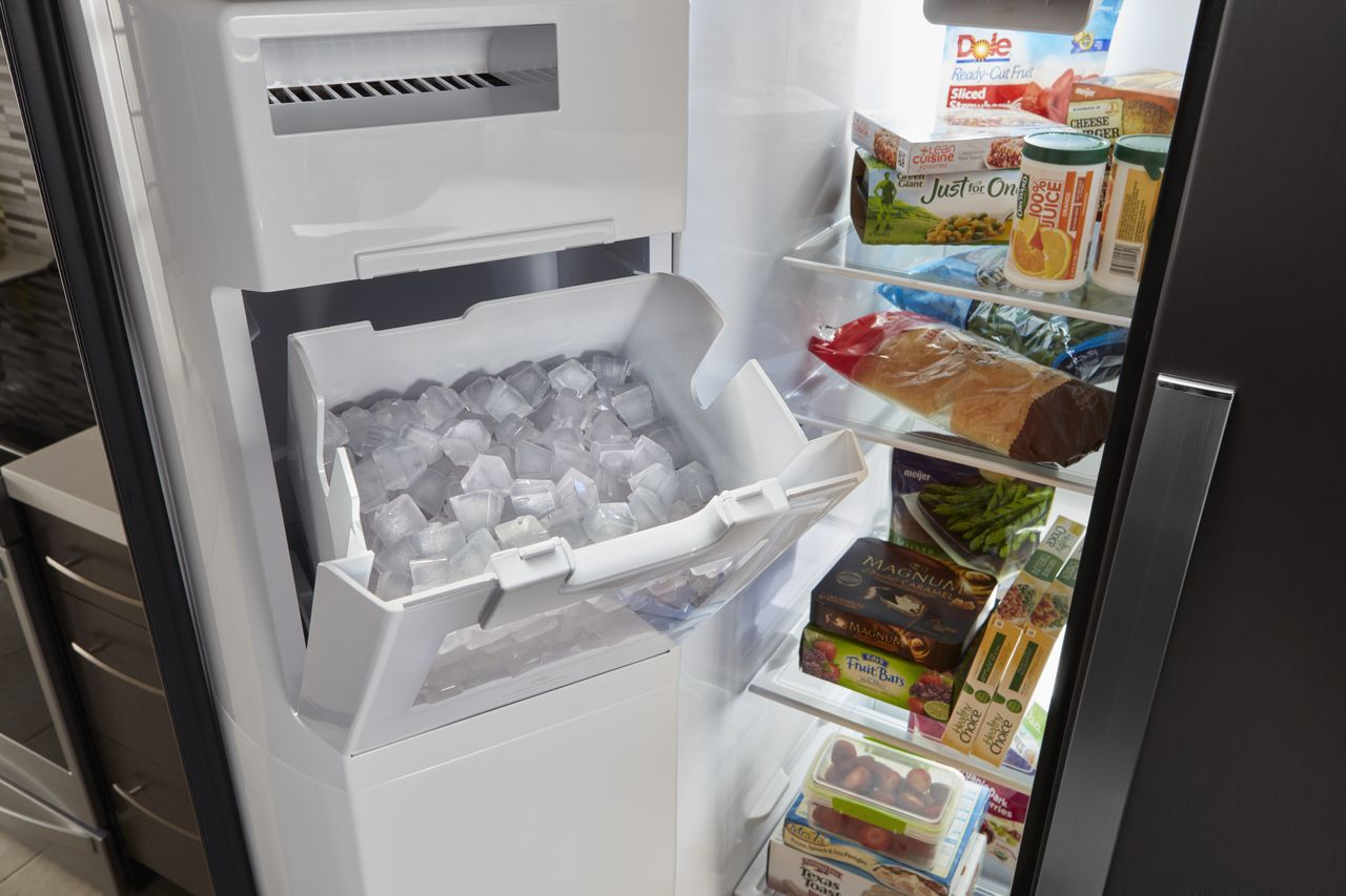 How To Clean And Sanitize The Ice Maker In The Refrigerator Appliancecare