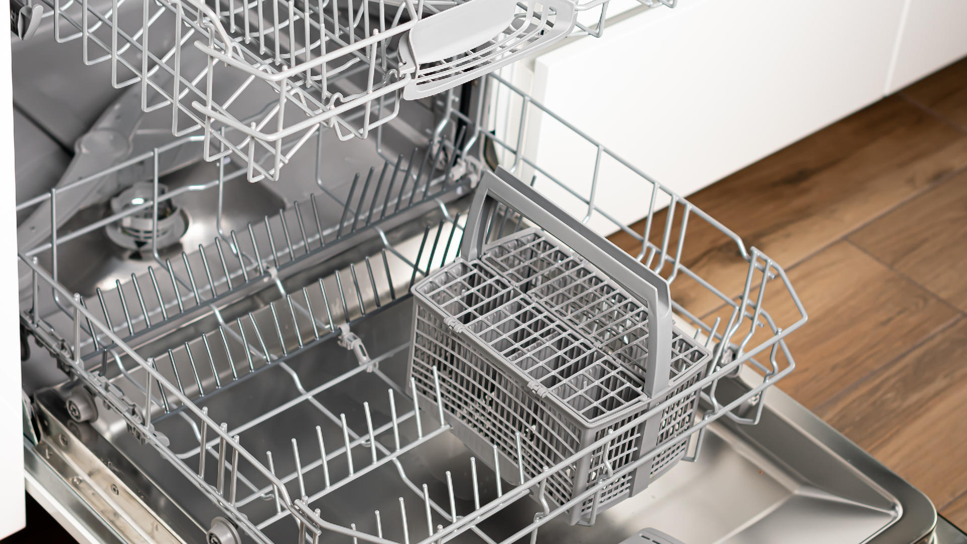 """Featured image for """"Dishwasher Leaking? Here's Why and How to Fix It"""""""